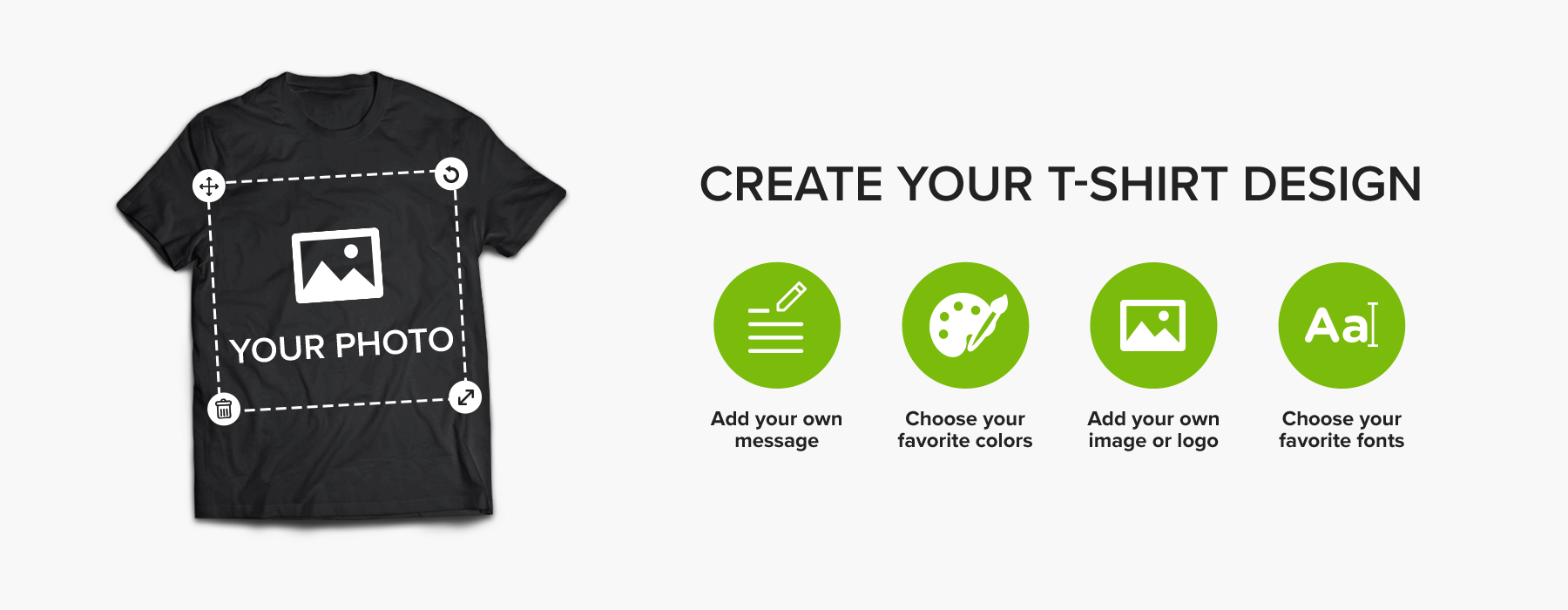 Personalize your t-shirt
